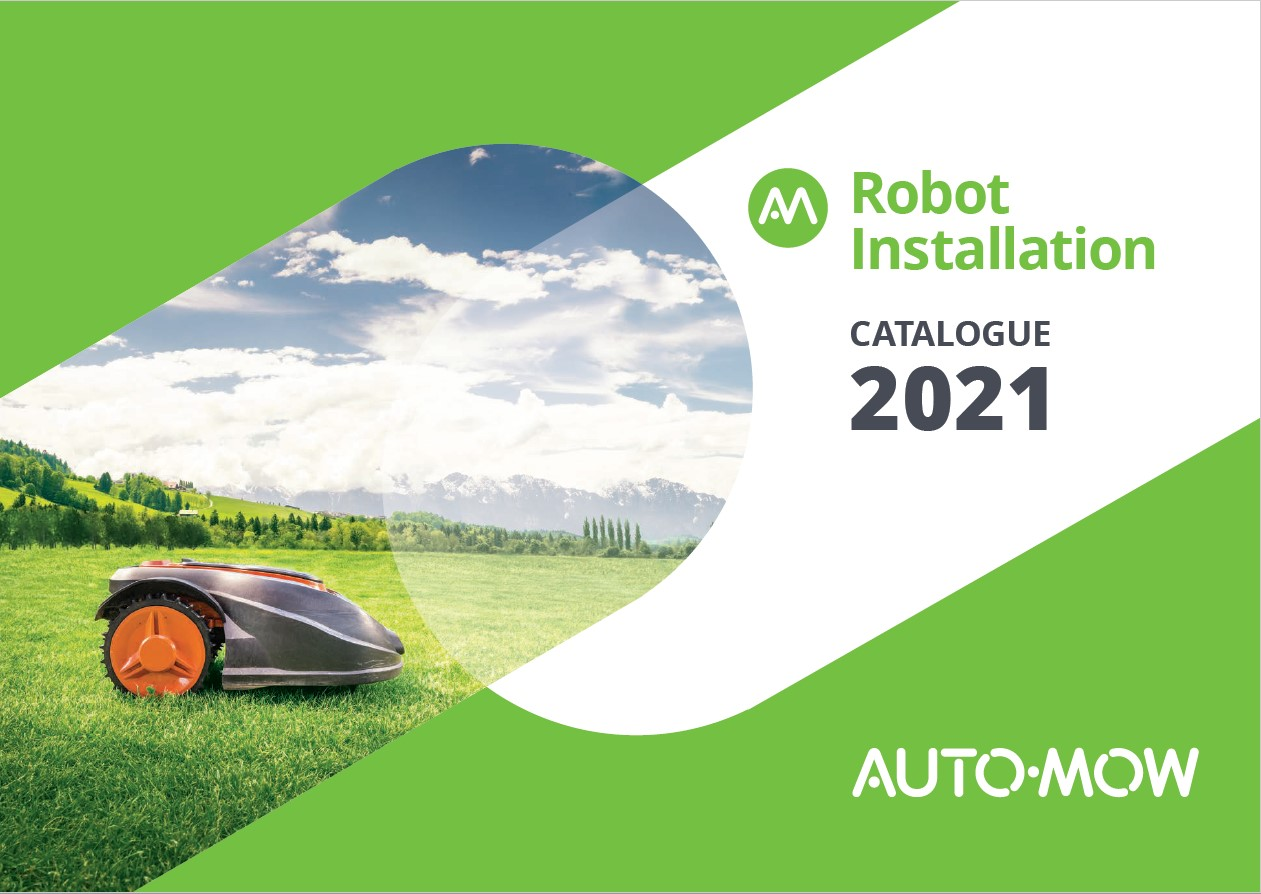 Auto-Mow Catalog front page